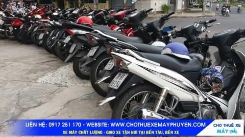 Cho thuê xe máy Phú Yên
